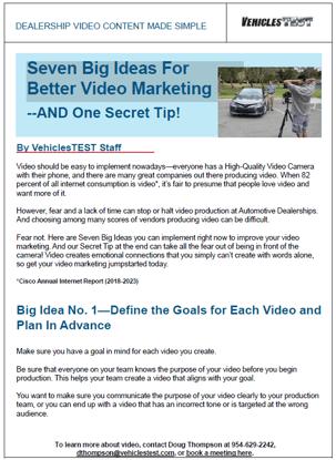 Seven Big Ideals Screen Grab Front Page