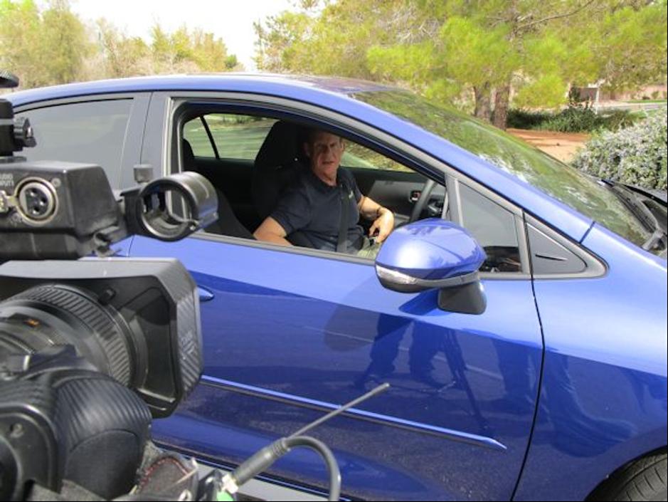 Doug Corolla on Camera